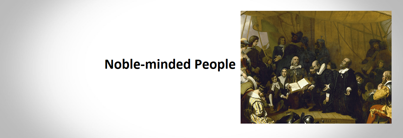 Noble-minded People